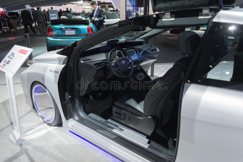Edição de Toyota Mirai Back To The Future foto de stock royalty free