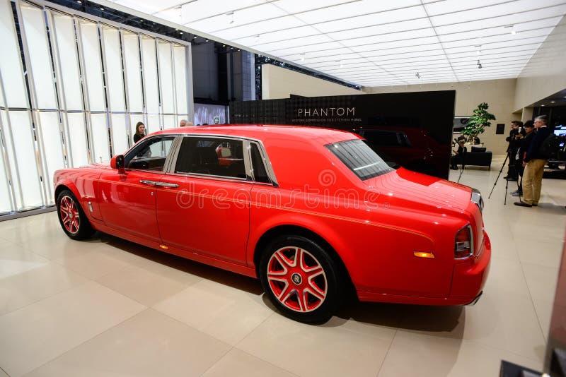 Edição especial de Rolls-Royce Phantom LWB Louis XIII imagem de stock