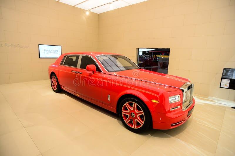 Edição especial de Rolls-Royce Phantom LWB Louis XIII imagem de stock royalty free