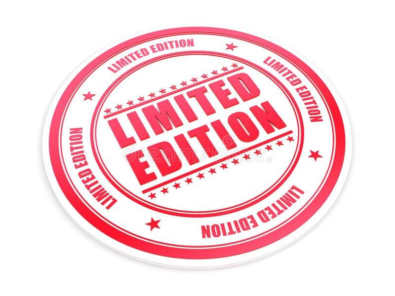 Edição limitada ilustração royalty free