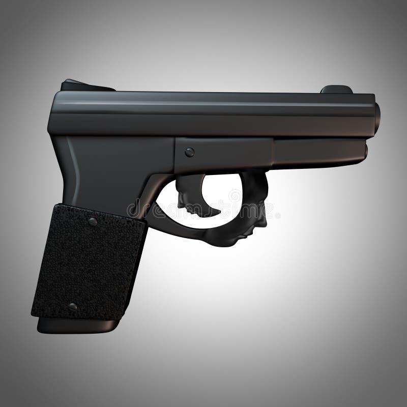 Edições da arma ilustração stock