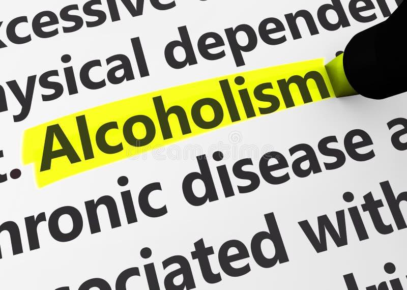 Edições do Social do apego do alcoolismo foto de stock royalty free