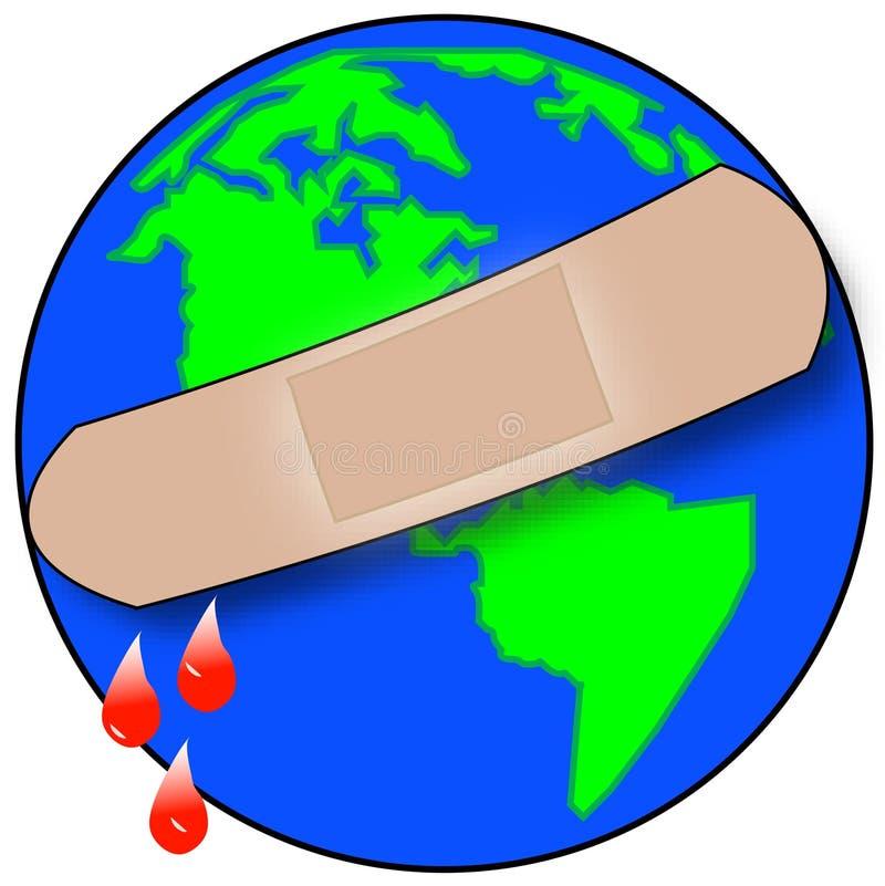 Edições globais ilustração stock