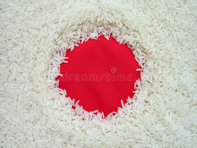 Edible Japan flag stock image