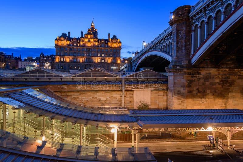 Ediburgh, Szkocja obrazy royalty free