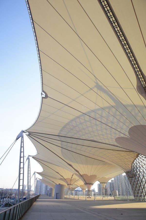 Edifício 2010 da expo do mundo de Shanghai fotografia de stock