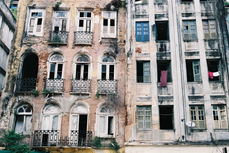 Edifício Abandonado Imagens de Stock Royalty Free