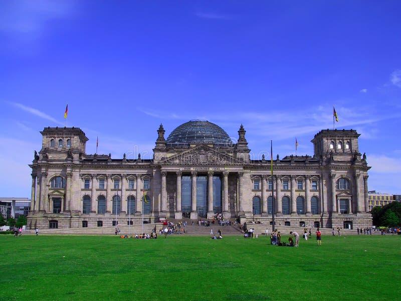 Edifício alemão do parlamento fotos de stock