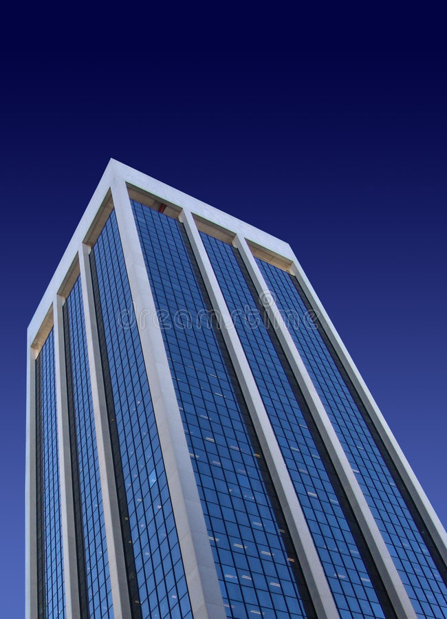 Edifício alto imagem de stock royalty free
