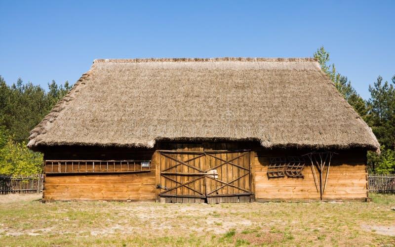 Edifício antigo do celeiro fotografia de stock