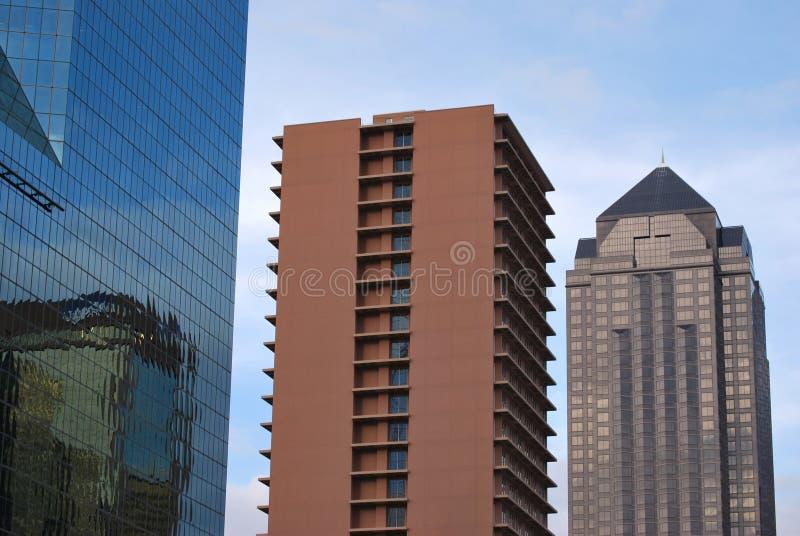 Edifício arquitectónico fotografia de stock