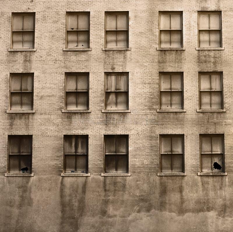 Edifício arruinado velho imagem de stock