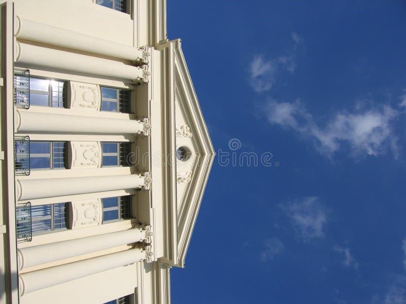 Edifício branco II fotos de stock