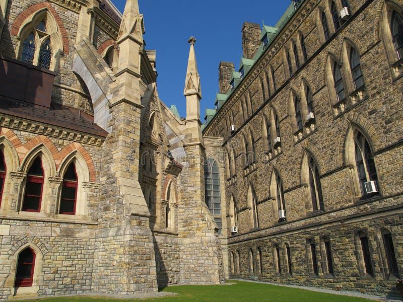 Edifício canadense do parlamento fotos de stock royalty free