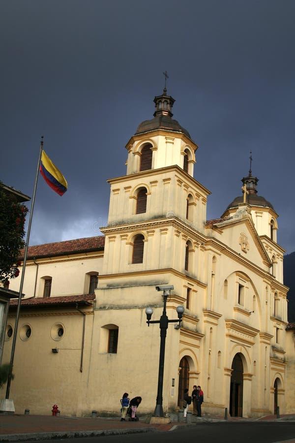 Edifício colombiano imagem de stock