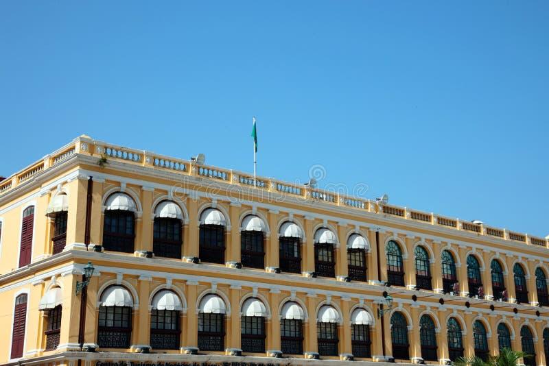 Edifício colonial imagens de stock