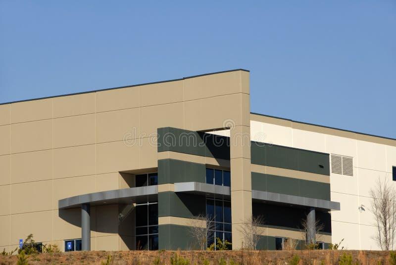 Edifício comercial moderno imagem de stock