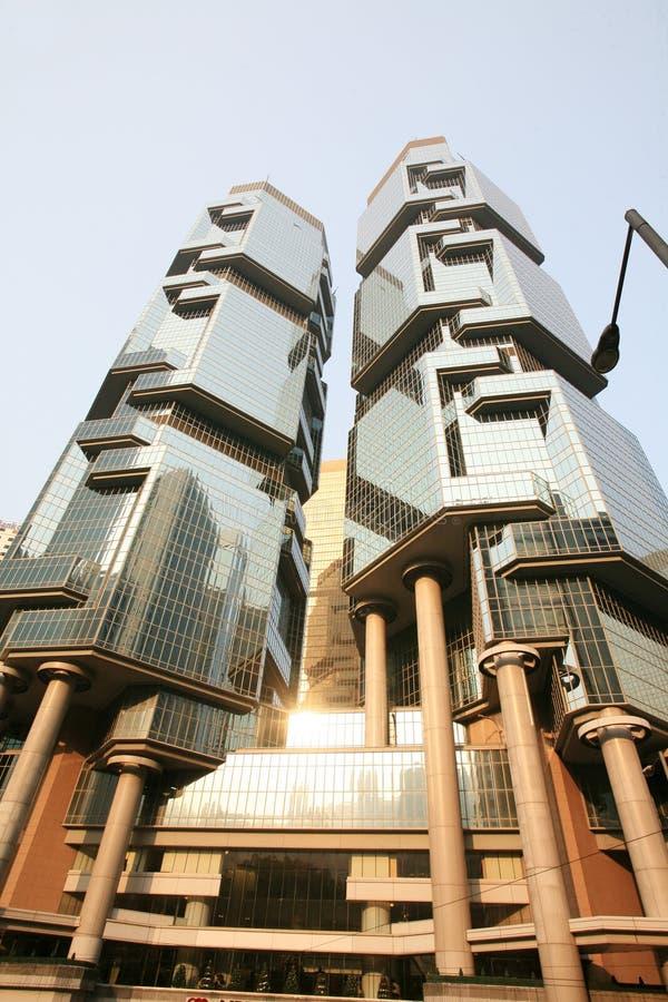 Edifício corporativo em Hong Kong imagem de stock royalty free
