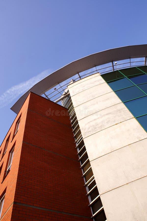 Edifício corporativo moderno fotografia de stock