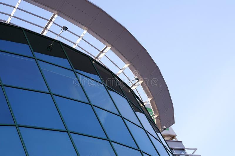 Edifício corporativo moderno fotos de stock royalty free