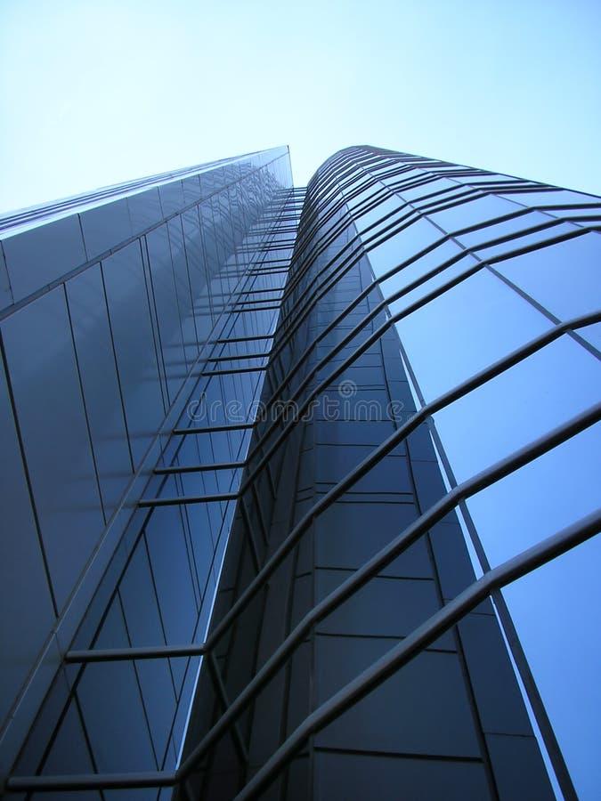 Edifício corporativo moderno do negócio de uma instituição financeira fotografia de stock royalty free