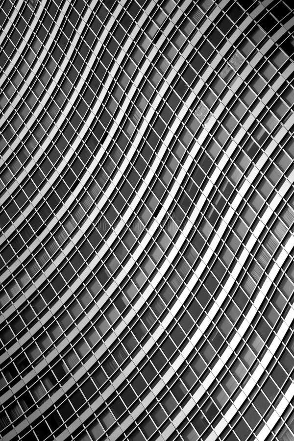 Edifício Curvy foto de stock