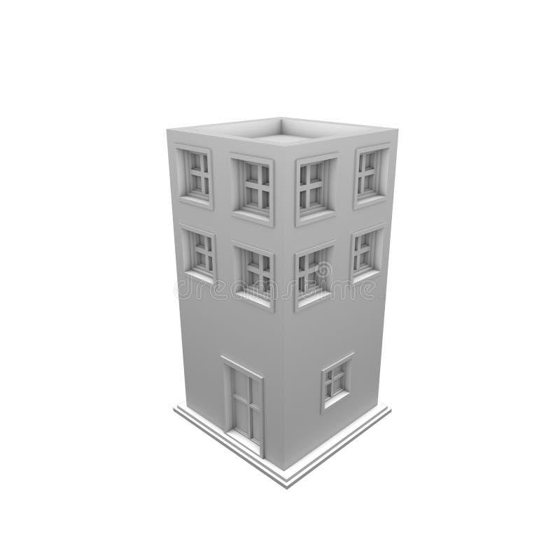 edifício 3d fotografia de stock