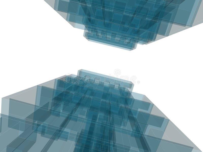 Edifício da arquitetura foto de stock royalty free