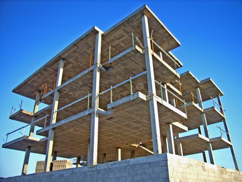 Edifício da construção   foto de stock