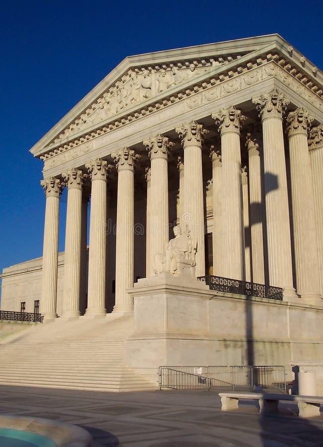 Edifício da corte suprema imagem de stock royalty free
