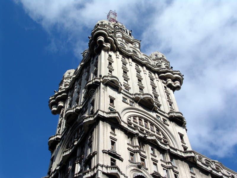 Edifício da salva - Montevideo Uruguai imagem de stock