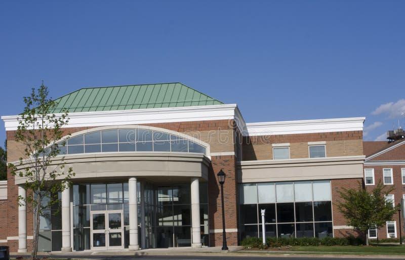 Edifício da universidade foto de stock