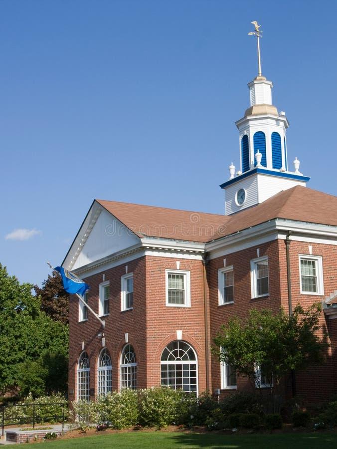 Edifício da universidade fotografia de stock