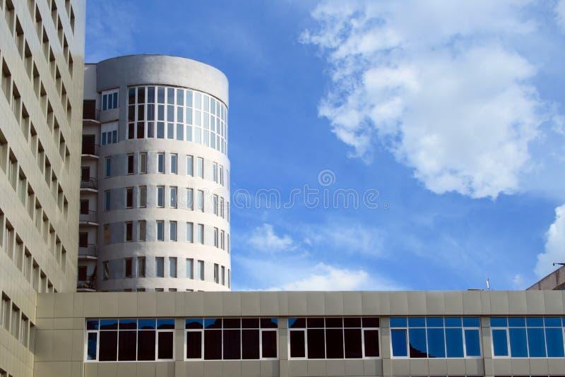 Edifício da universidade de Saratov imagem de stock
