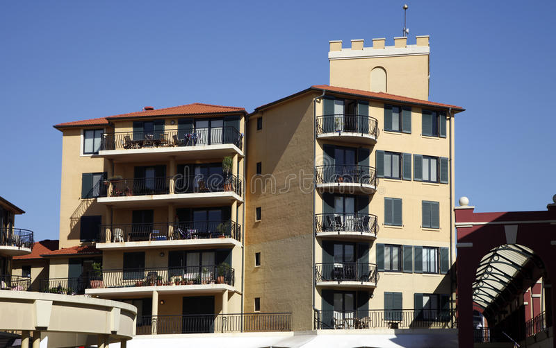 Edifício de apartamento, Sydney, Austrália imagem de stock