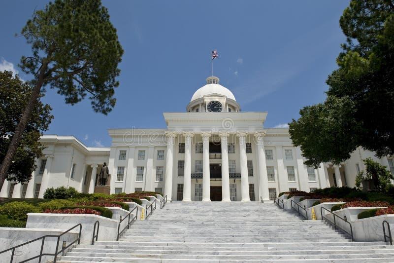 Edifício de capital em Alabama. imagens de stock royalty free