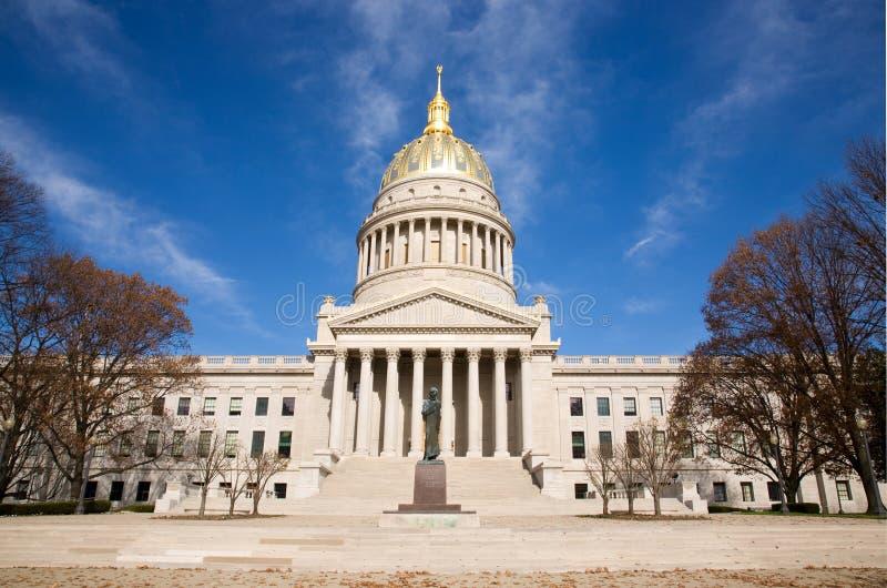 Edifício de capital em Charleston West Virginia imagem de stock royalty free