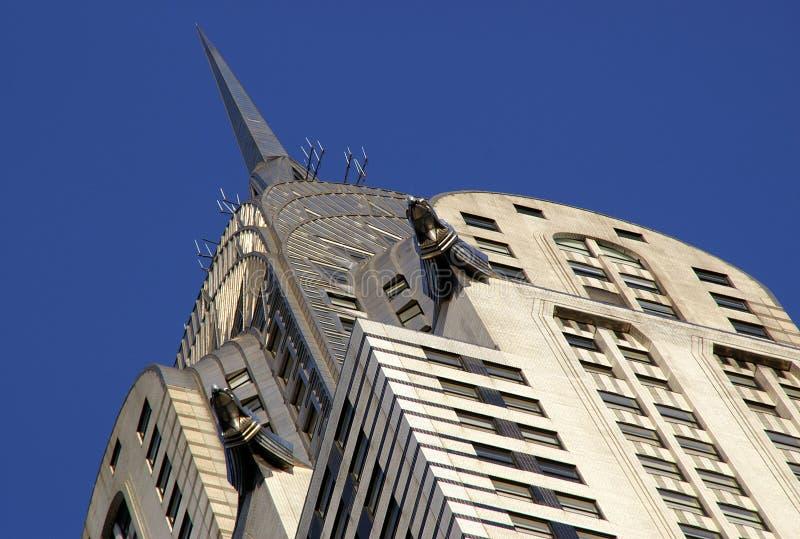 Edifício de Chrysler do art deco foto de stock