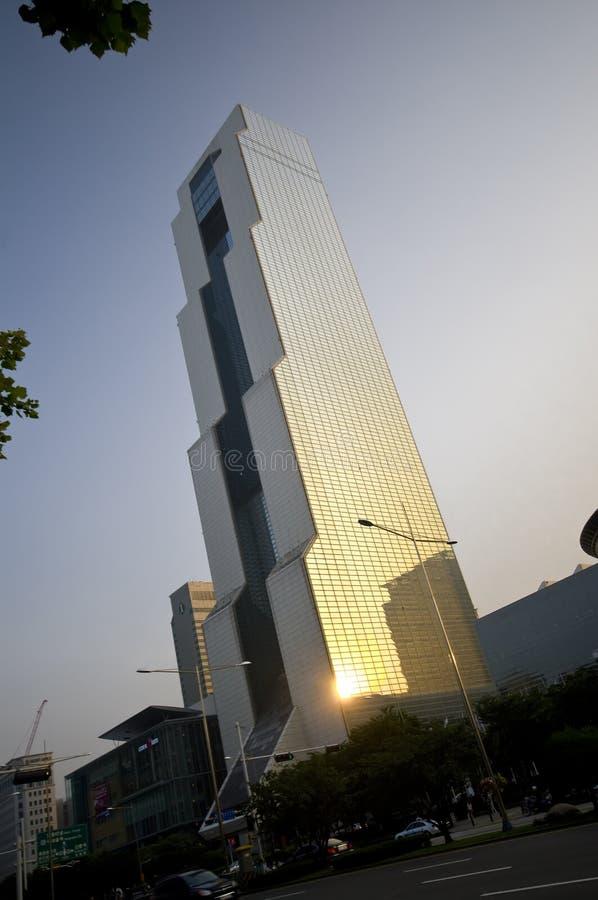 Edifício de COEX em Seoul fotos de stock royalty free