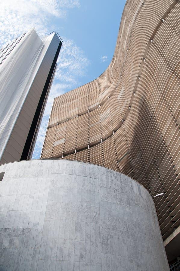 Edifício de Copan em Sao Paulo fotografia de stock royalty free