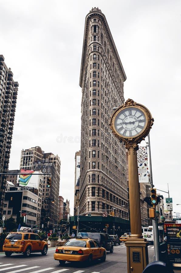 Edifício de Flatiron em New York fotografia de stock royalty free