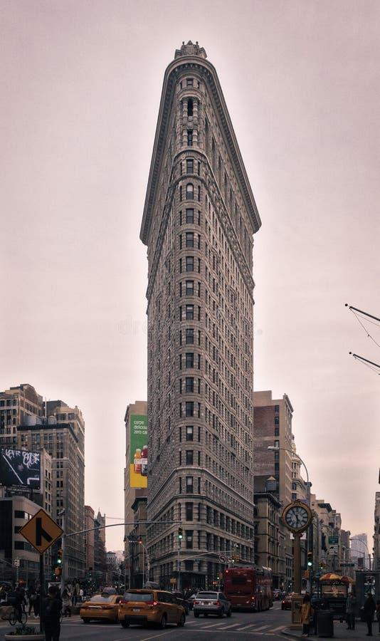 Edifício de Flatiron em New York City fotos de stock royalty free