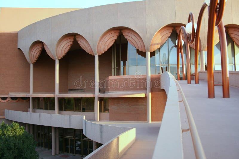 Edifício de Gammage em ASU imagens de stock royalty free
