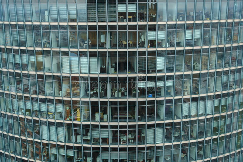 Edifício de Glas fotografia de stock