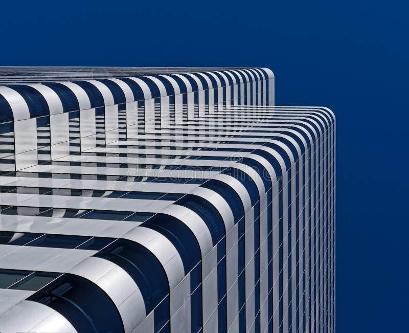 Edifício de Highrise moderno fotografia de stock