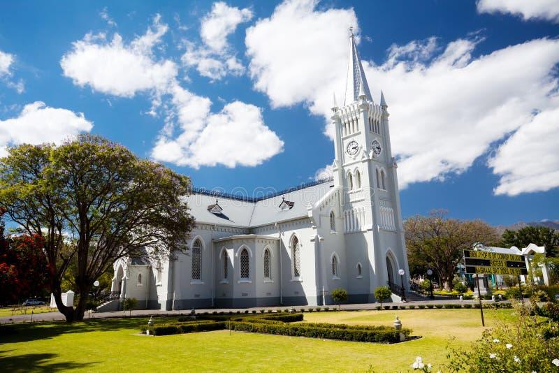 Edifício de igreja em Robertson imagens de stock royalty free
