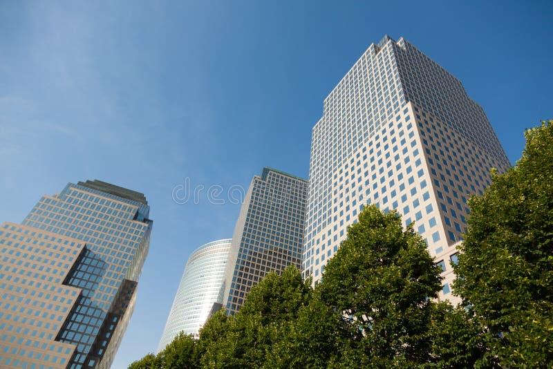 Edifício de New York City fotografia de stock royalty free