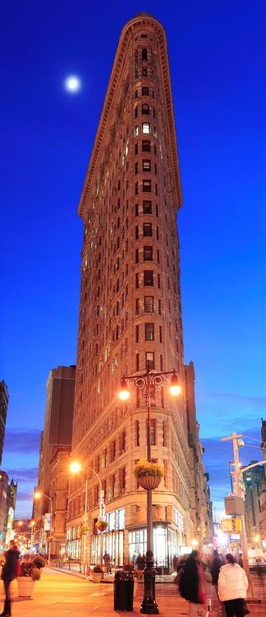Edifício de New York City Flatiron foto de stock