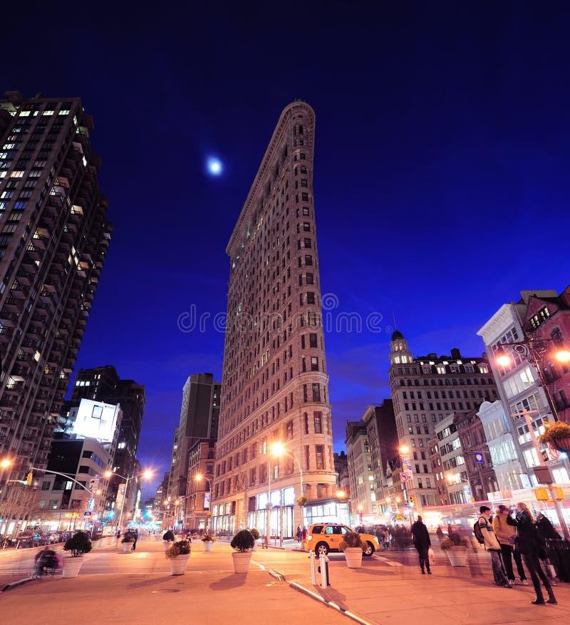 Edifício de New York City Flatiron imagem de stock