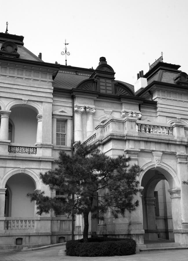 Edifício de pedra velho fotografia de stock